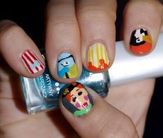 Mary Poppins Nails