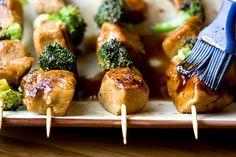 Tamarind Seitan Kabobs by Vegan Yum Yum Seitan Recipes, Kabob Recipes, Chicken Recipes, Vegan Vegetarian, Vegetarian Recipes, Vegetarian Kabobs, Vegan Kabobs, Vegan Food, Homemade Seitan