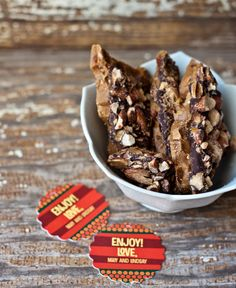 Homemade Almond Roca  love this stuff