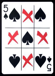"""""""The Five of Spades"""", paper, 24"""" x 17.125"""", © 2011 Emmanuel Jose"""