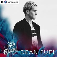 Saturday coming in  Got a cheeky little ticket giveaway on my Facebook fan page - http://ift.tt/1h84YX4     #Repost @sohappyza  One of Cape Towns best loved DJ's @deanfuel believes in the power of music to bring people together! Defined by a distinctive style - versatile & passionate!! He will be bringing his usual good vibes and ridiculous beats to this years So Happy Carnival