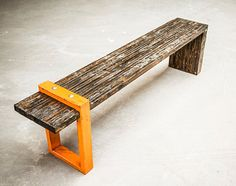 Kirby Bench by AntonMakaDesigns on Etsy