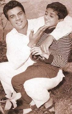 Dharmendra with Sunny Deol