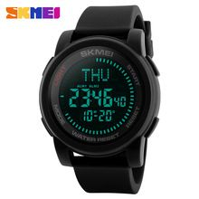 Able Skmei 1310 Sports Watches Men Big Dial Outdoor Countdown Chronograph Watch Waterproof Digital Wristwatches Relogio Masculino Limpid In Sight Watches