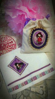 Mira este artículo en mi tienda de Etsy: https://www.etsy.com/es/listing/449546964/set-fabric-bag-hand-towel-gorjuss-girl