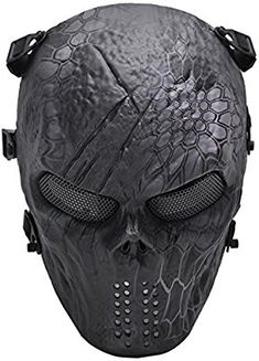 Spide Net Mask cool Biker Motorcylce Cosplay Punk Dress