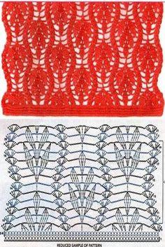 Favori triko KANCA: 20 için delikli kroşe çalan noktası ya da yay kareli