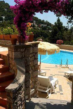 Hotel Mamela, Capri, Italy