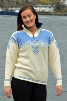 A sporty sweater perfect for winteractivities – knitted in wool, with a high zipped collar and a soft fleece lining. A practical elastic drawstring at the base of the sweater gives it a perfect snug fit on the hip Boss Lady, Cardigans For Women, Snug Fit, Knitwear, Sporty, Sweatshirts, Sweaters, Fashion, Moda