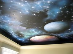 Mural on the ceiling! || Painted Planet