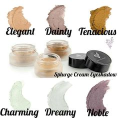 Splurge Cream Eyeshadow Collection...which will you choose?