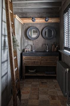 Lovely stone bathroom