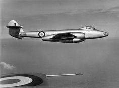 Poster Print-The Gloster Meteor prototype poster sized print mm) made in the UK Navy Aircraft, Ww2 Aircraft, Military Aircraft, Gloster Meteor, Men Are Men, Royal Air Force, Second World, Royal Navy, Inventions