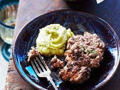 Lamb Patties with Cauliflower and Pea Mash recipe - Prevention Magazine - Yahoo!7 Lifestyle