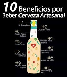 10 beneficios por beber cerveza artesanal