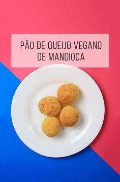 Receita de pão de queijo vegano de mandioca :-) // palavras-chave: receita, café…