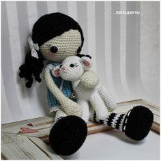 kertupertu maailm: Crocheted amigurumi doll Kaisa