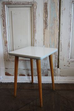 German Mid-century Plant Stand / End Table