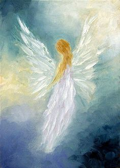 Marina Petro ~ Adventures In Daily Painting Angel Artwork, Angel Drawing, I Believe In Angels, Angel Pictures, Painting Techniques, Painting Inspiration, Urban Art, Canvas Art, Street Art