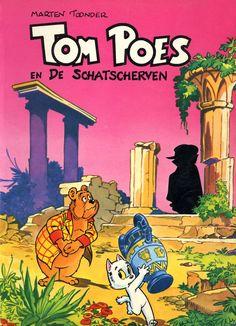 Tom Poes (Oberon) - 01 - Tom Poes En De Schatscherven