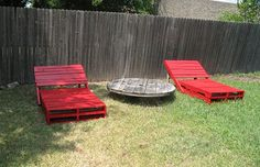 Pallet Loungers.