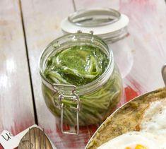 Palak Paneer, Guacamole, Pickles, Cucumber, Salad, Ethnic Recipes, Drink, Beverage, Salads