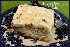Sweet Tea and Cornbread: The Elvis Presley Cake!