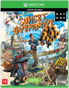 Sunset Overdrive - Day One - Xbox One - R$99,90