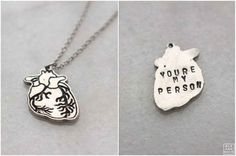 A necklace that proves how close your BFF is to your heart.