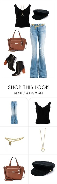 """""""Inverted Triangle Shape- Casual"""" by jess-thomas14 on Polyvore featuring Sans Souci, ADAM, Chanel, Chaps and Manokhi"""
