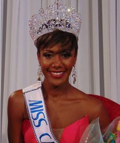 Monyque Brooks is Miss Cayman Islands 2016