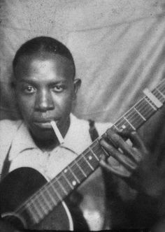Robert Johnson c.early 1930s, photo booth self portrait
