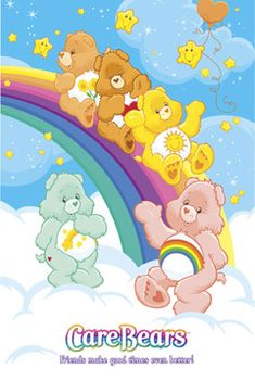 care bear birthday clipart | Care Bears Posters - smart reviews on cool stuff.