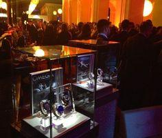 """Welche Zeitmesser gerade angesagt sind, präsentierte Omega in einer eigenen Lounge auf der """"GQ Männer des Jahres"""" Gala."""