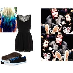 Commentary with Dean Ambrose for Kevin Owens VS. Neville. by jamiehemmings19 on Polyvore featuring Oasis and Converse