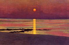 Sunset – Felix Vallotton