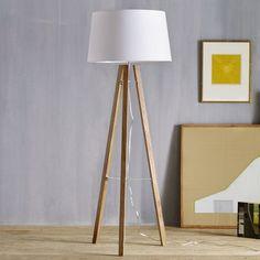 Tripod Wood Floor Lamp | west elm