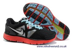 the latest 1e205 cc6a1 Buy 2013 New Mens Nike Lunarglide 3 City Pack (Chicago) Black Red Blue  shoes Running Shoes Store