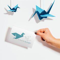 PAIVA DESIGN | Conception de ce logo. Combiner l'origami et de couture. Your Message, Origami, Reflection, Branding, Messages, Graphic Design, Couture, Logos, Instagram