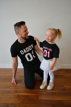 Papa Papa Mädchen Vater Tochter passenden Hemden Papa Papas