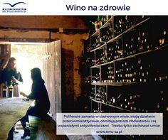Wino może być zdrowe, pod warunkiem, że zachowamy umiar. #emc #emcszpitale #wino