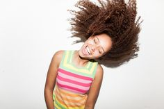 Afro hair natural mixedrace