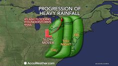Progression of Heavy Rainfall starting Thursday daytime, then night and hitting eastern third of PA on Friday, May 16, 2014. Are we ready for this? NO!!! Send it to CA where they need it!!!