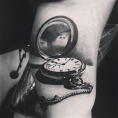 I love this pocketwatch tattoo. If only i knew a great artist that could copy it i would get it as a tribute to my grandpa, with the time of his death.