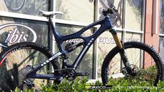 Custom Ibis HDR build with BikeCo CustomMTB Rear Suspension
