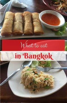 What to eat in Bangkok | Bangkok street food | street food in Thailand | travel with kids | travel with a toddler | family travel | backpacking Thailand | backpacking with a toddler | backpacking with kids | family friendly food in Thailand | kids world travel guide | south east asia | fried rice | street food