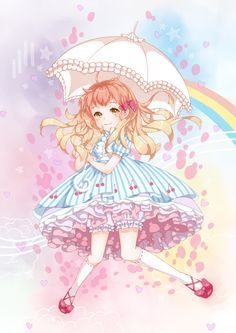 A place for sharing and discussing new releases from lolita fashion brands Kawaii, I Love Anime, Pastel Goth, Lolita Fashion, Manga Anime, Butterfly, Joy, Fan Art, Anime Girls
