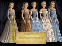 This is a deviation of Ashley Boyd/Cinderella from Once Upon A Time. This one was kinda hard to do, especially on her last dress. Cinderella/Ashley Boyd on ABC's Once Upon a Time Best Tv Shows, Best Shows Ever, Favorite Tv Shows, Movies And Tv Shows, Disney Go, Disney Pins, Jessy Schram, The Dark One, Outlaw Queen