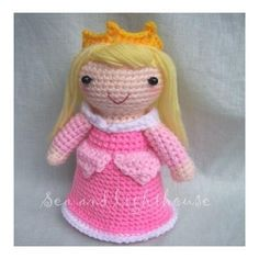 Amigurumi Cute crochet Toys and Carfts shop : Crochet Pattern Amigurumi - Seven Princess DIY Crochet Patterns Amigurumi, Crochet Toys, Yarn Dolls, Cute Crochet, Doll Toys, Sleeping Beauty, Teddy Bear, Creative, Handmade Gifts