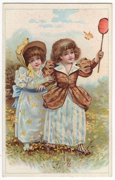 Liebig Belgian victorian trade card